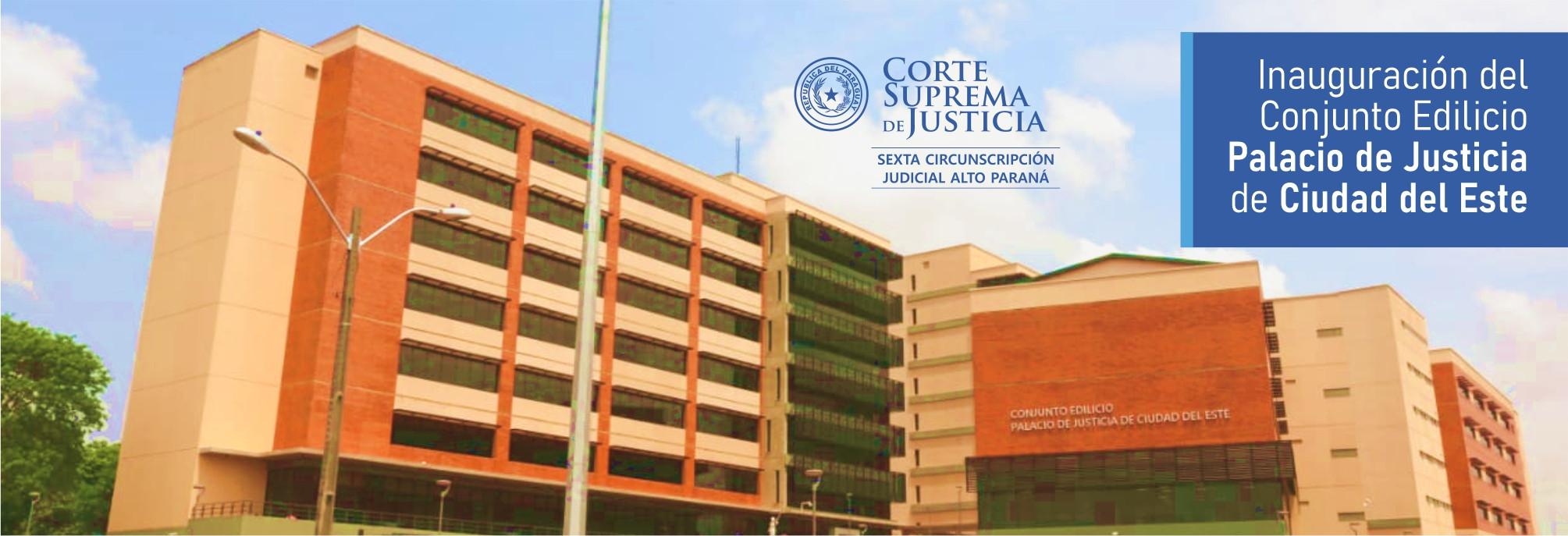 Conjunto Edilicio Palacio de Justicia de Ciudad del Este